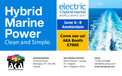 AKA at the Electric & Hybrid Marine World Expo