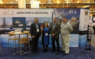 Aspin Kemp & Associates (AKA) at the International Workboat Show