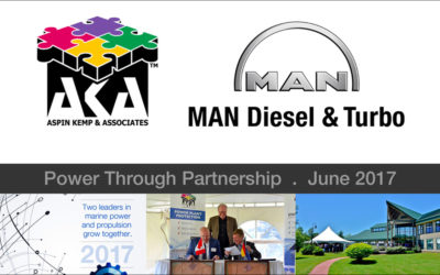 AKA and MAN Diesel & Turbo Signing Ceremony