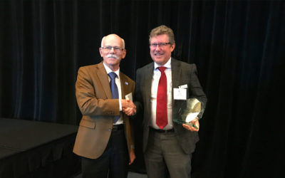 Jason Aspin – Recipient of the DP Committee's Distinguished Achievement Award