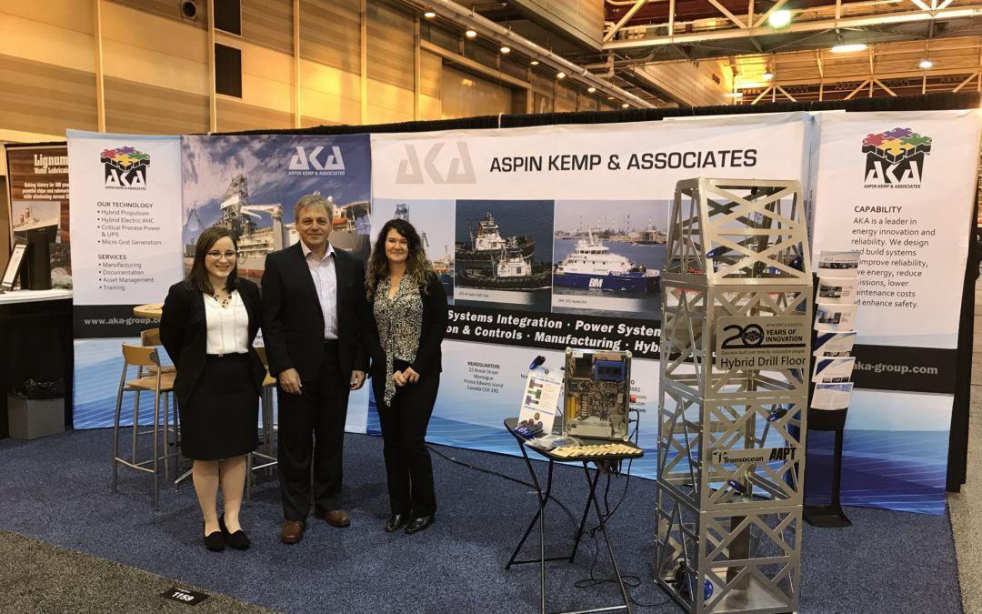 Aspin Kemp & Associates (AKA) at the International WorkBoat Show in New Orleans