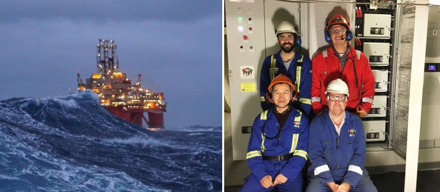 Transocean Spitsbergen is First Drilling Vessel to Run Thrusters from Batteries
