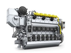MAN 3544DF engine