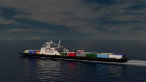 Seaspan RoRo Hybrid Ferry