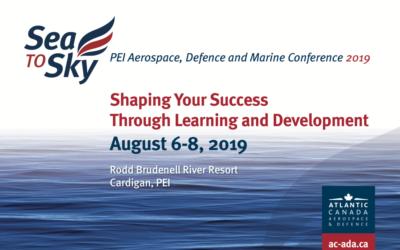 Sea to Sky: PEI Aerospace, Defence and Marine Conference 2019